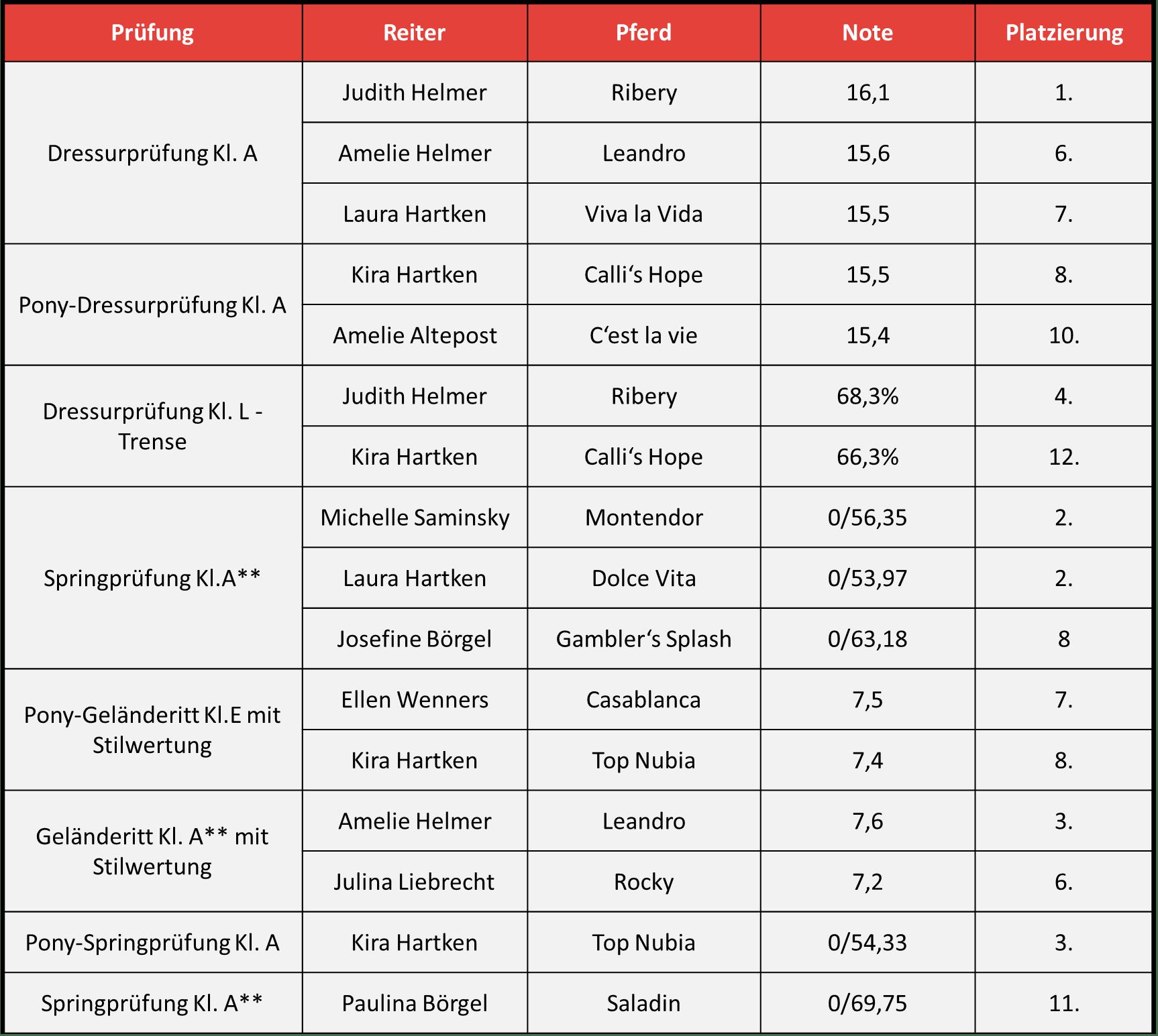 Provinzialturnier 2016_Einzelplatzierungen